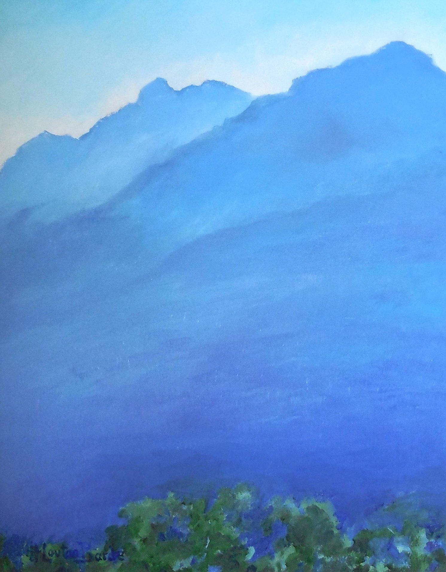 Peinture d'Henriette Loutan Barde