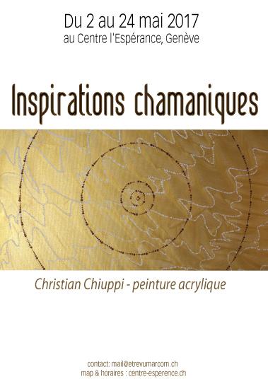 Exposition Inspirations Chamaniques de Christian Chuppi