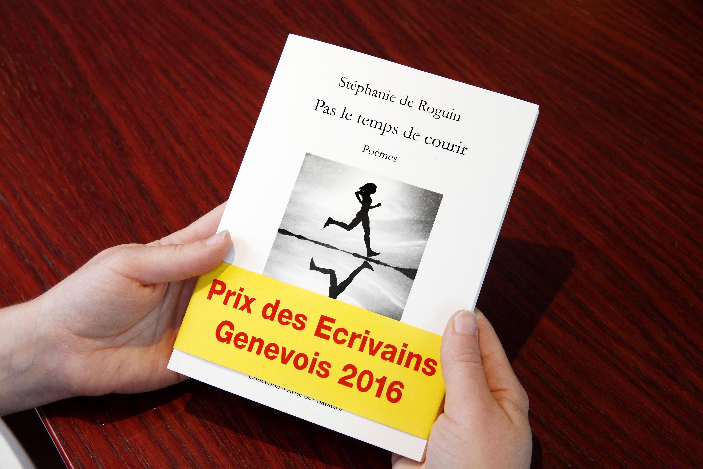 A 33ans, Stéphanie de Roguin a gagné le prestigieux prix littéraire de la Société genevoise des écrivains, décerné à un ouvrage de poésie. MAGALI GIRARDIN