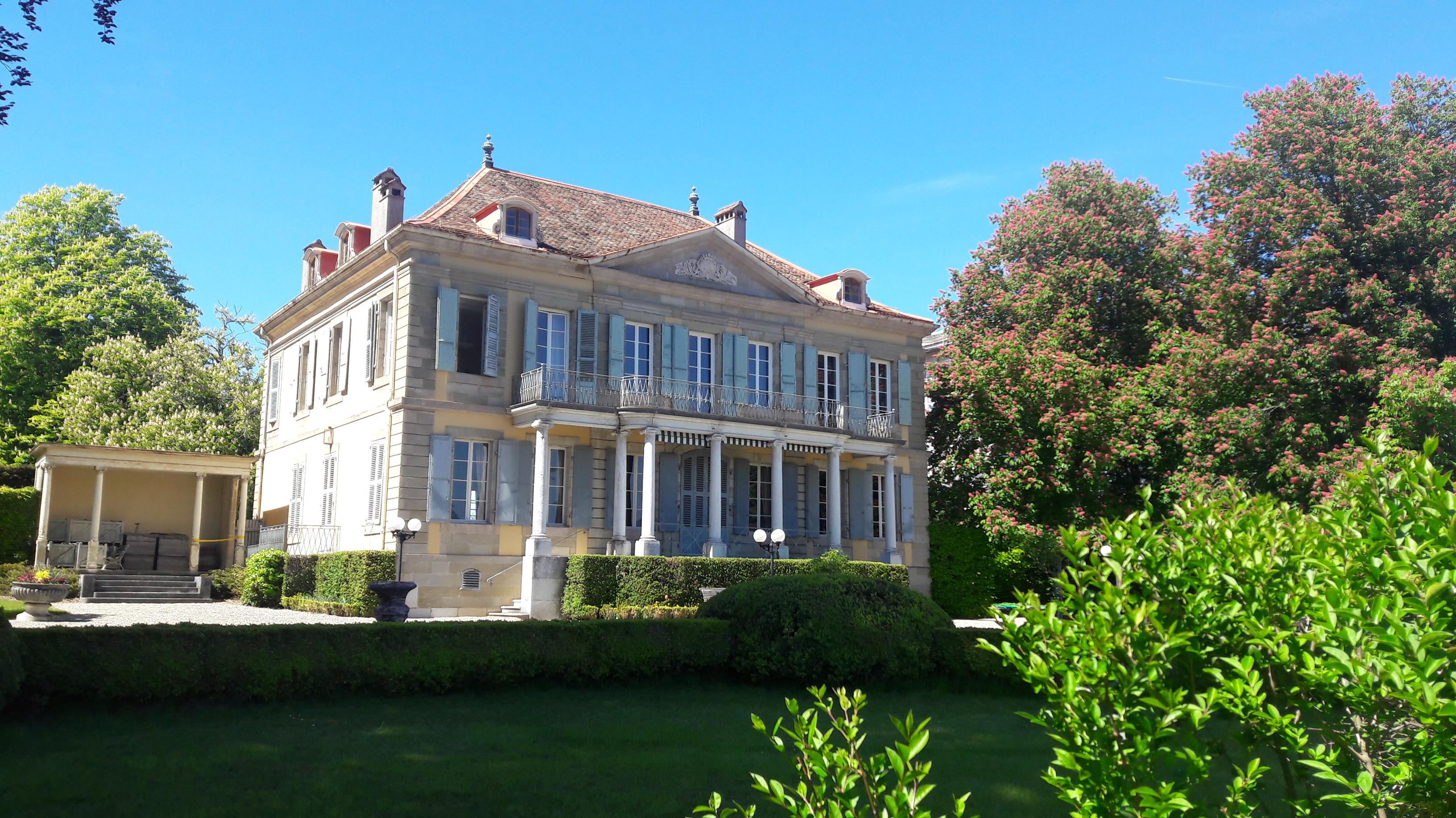 Les belles demeures de Genthod