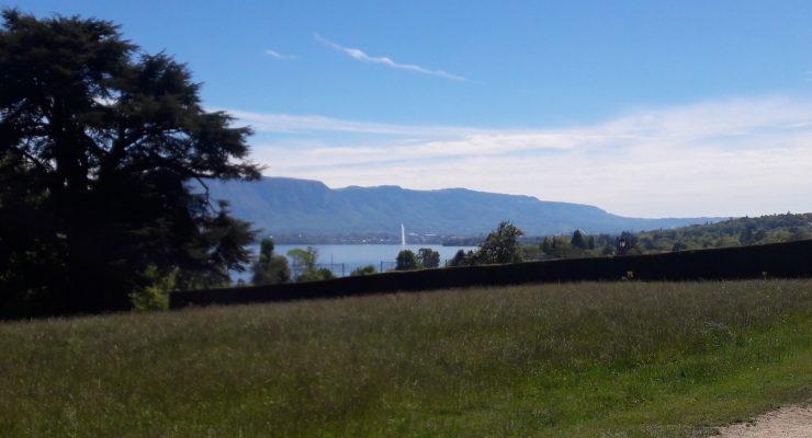 Promenade A Genthod, il y a de Bellevue