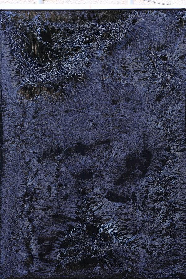 Friselures XIV Huile sur toile 117 X 90 cm Berolli