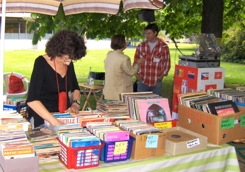 Marché aux disques - Juke-Box