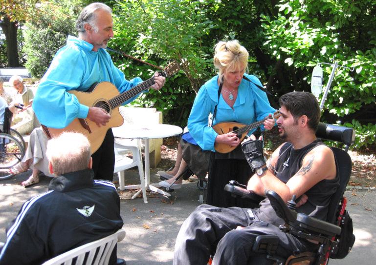 Chanteurs-troubadours