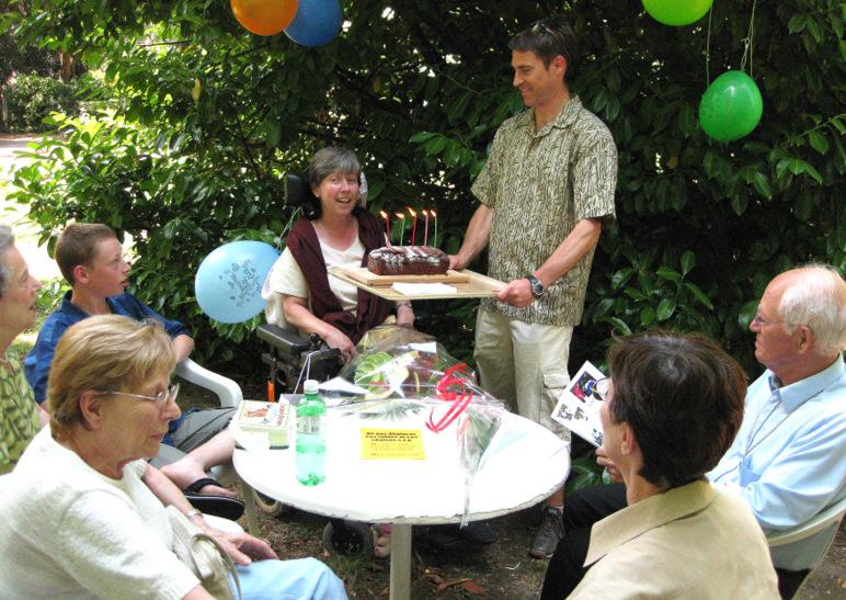 Célébration d'un anniversaire
