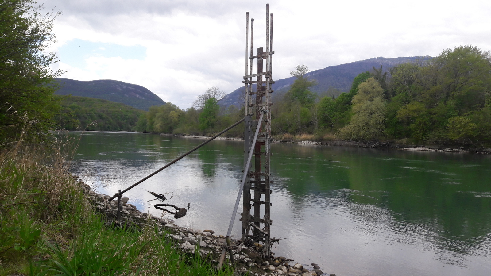 Rhône au bout de la Suisse