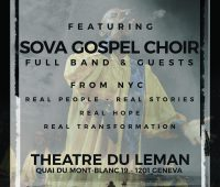 THEÂTRE DU LEMAN – CONCERT SOVA GOSPEL CHOIR FULL BAND & BRASS SECTION