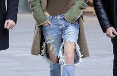 Après la «mode» des jeans déchirés : bientôt celle des jeans boueux !