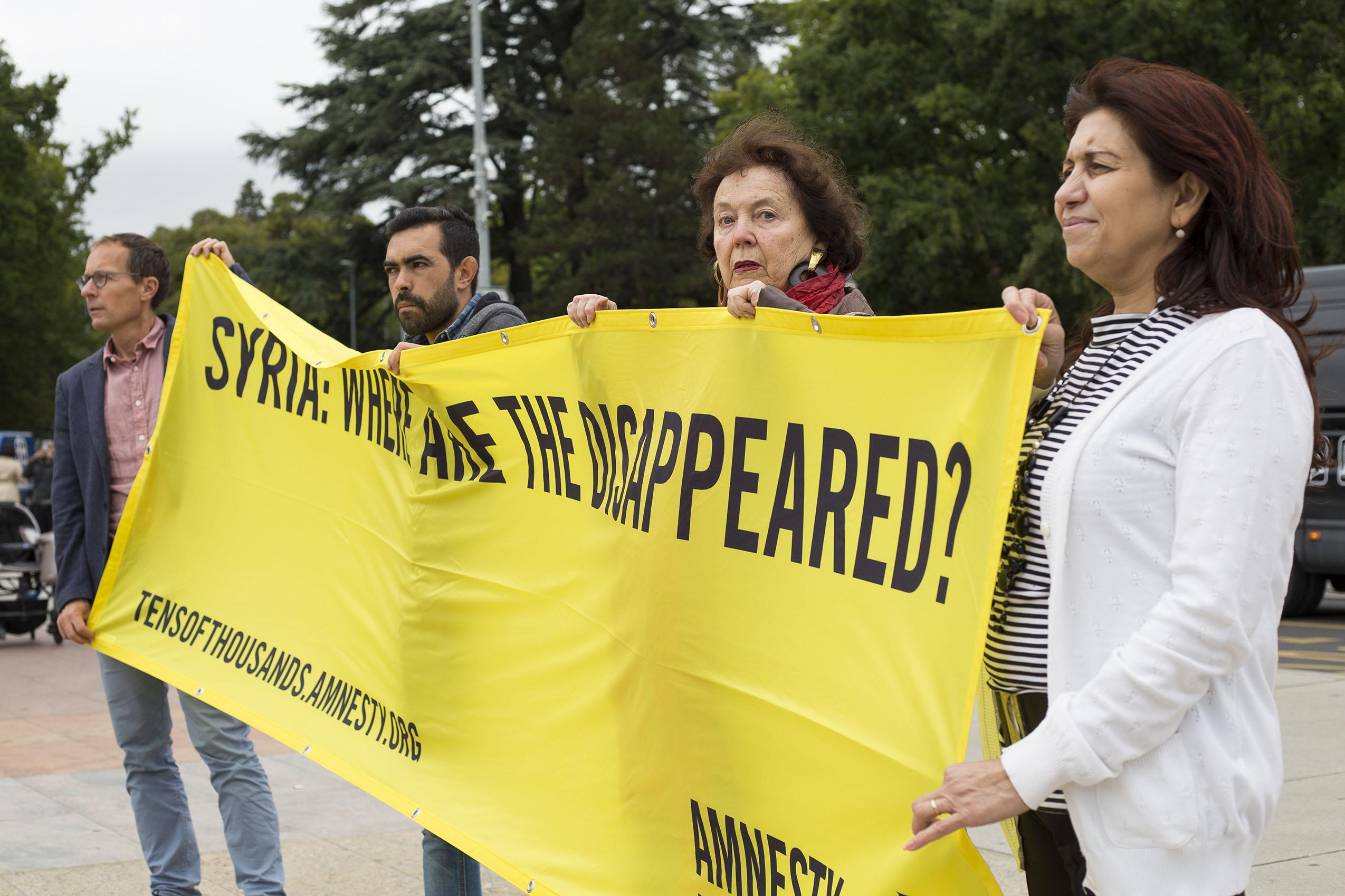"""« Syrie : Où sont les disparus?"""""""