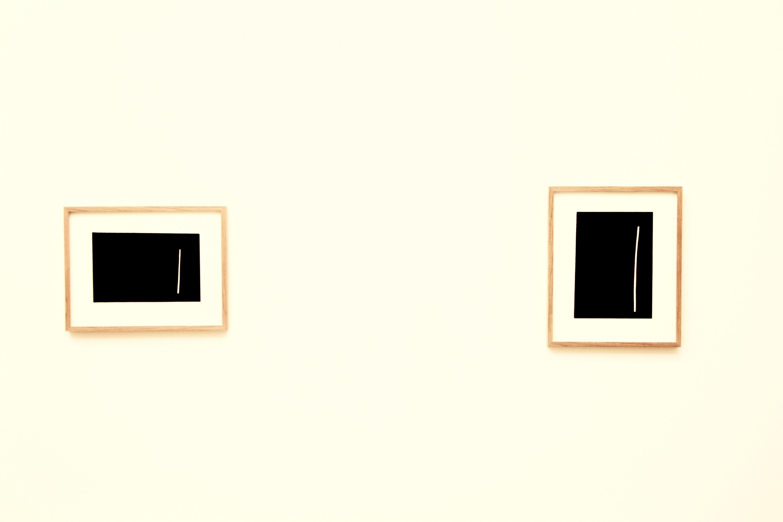 Le minimaliste noir et blanc d'André Butzer