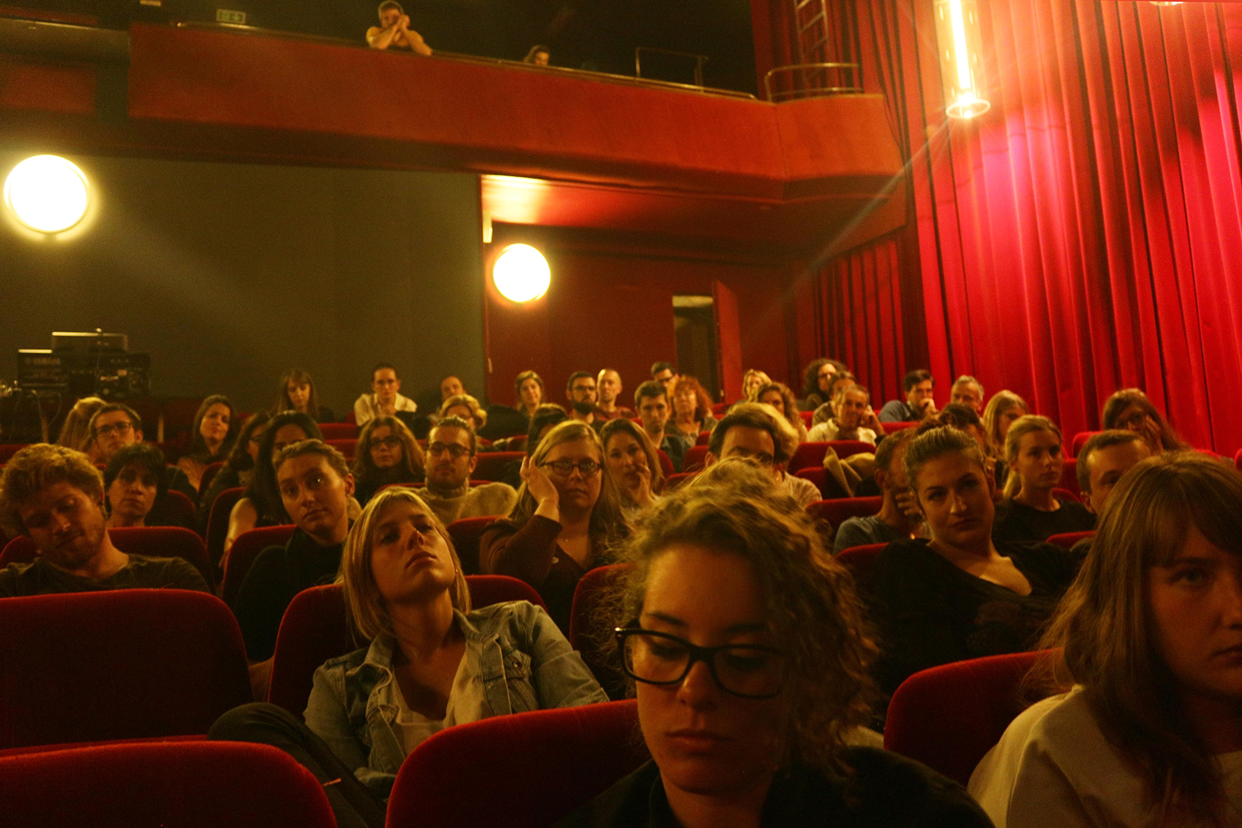 Un public nombreux à la soirée #làpourtoi