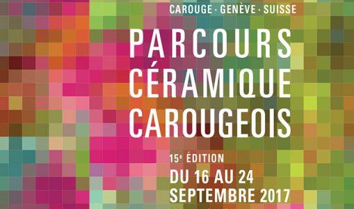 15e Parcours Céramique Carougeois: jeune et nouveau!