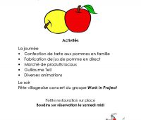 Collex-Bossy fête la pomme