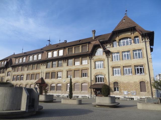 L'Ecole des Pervenches construite en 1911. © Nathaly de Morawitz-Schorpp