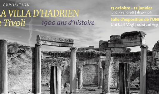 Exposition «La villa d'Hadrien à Tivoli – 1900 ans d'histoire»