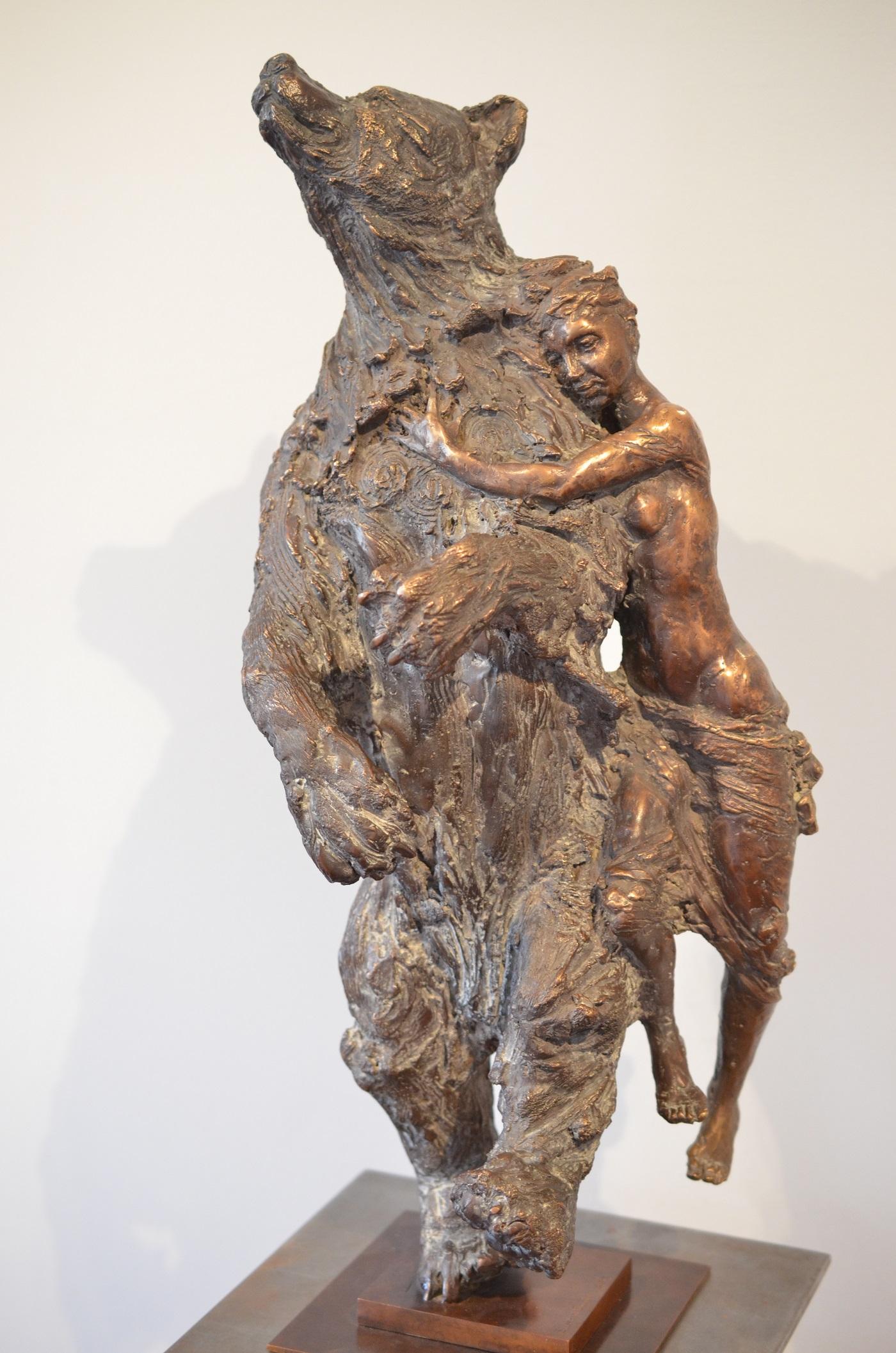 Lune de miel   Bronze  H 72 x L 27 cm