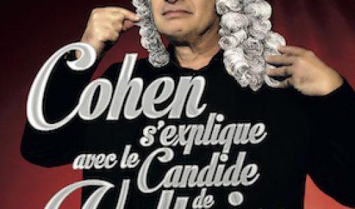 Cohen s'explique avec le Candide de Voltaire