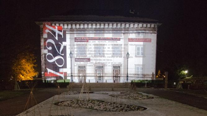 La mairie de Lancy