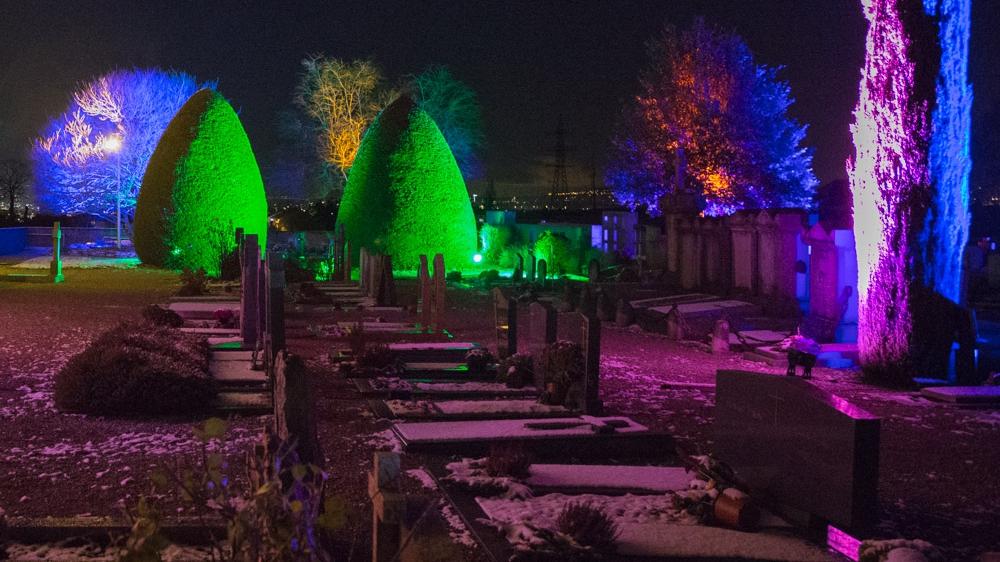 Le cimetière de Compesières
