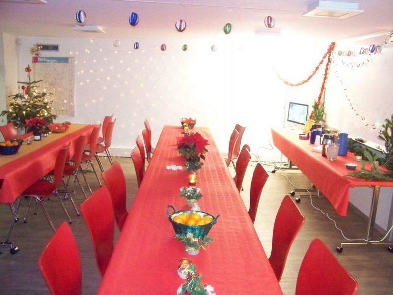 2. Préparatifs fête de Noël au CSP