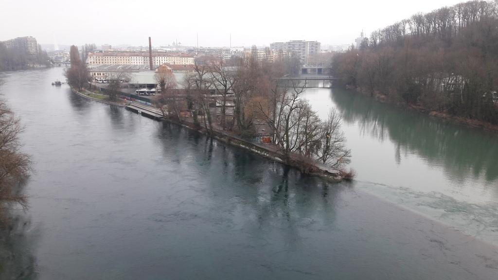 La jonction du Rhône avec l'Arve