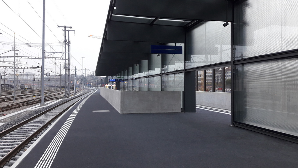 La gare de Lancy-Pont-Rouge