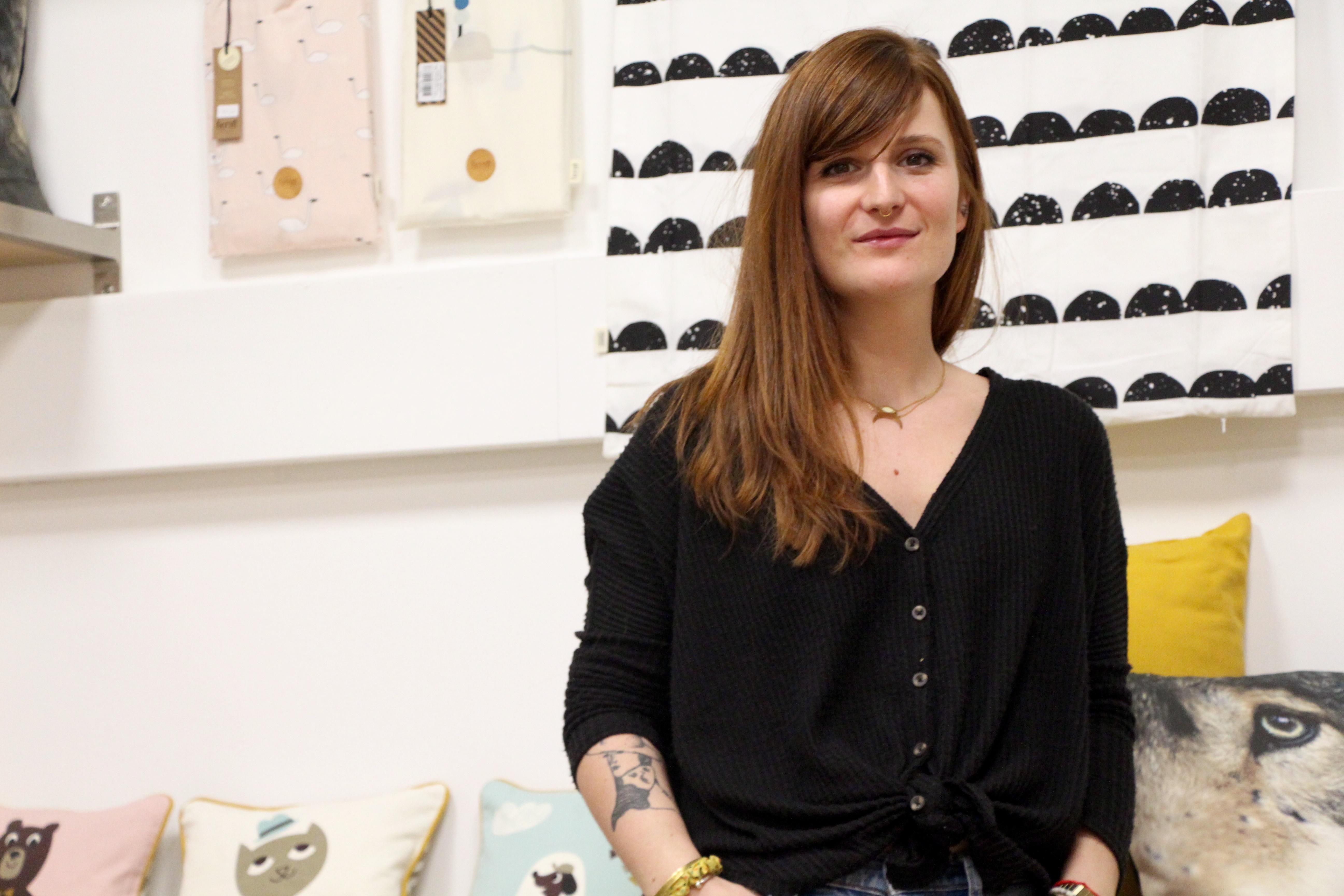 Manon Barraud, cofondatrice de la boutique © Eugénie Rousak