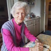 Petite visite chez Betty, bientôt centenaire