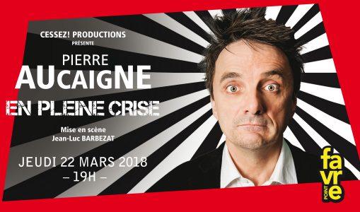 Pierre Aucaigne en pleine crise