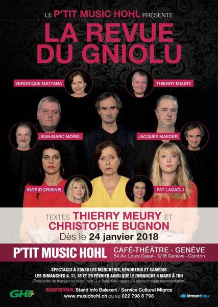 «LA REVUE DU GNIOLU» au P'tit Music'Hohl!