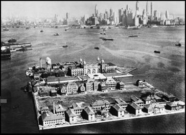 Ellis Island 1933