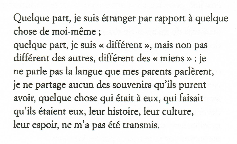 extrait G.Perec