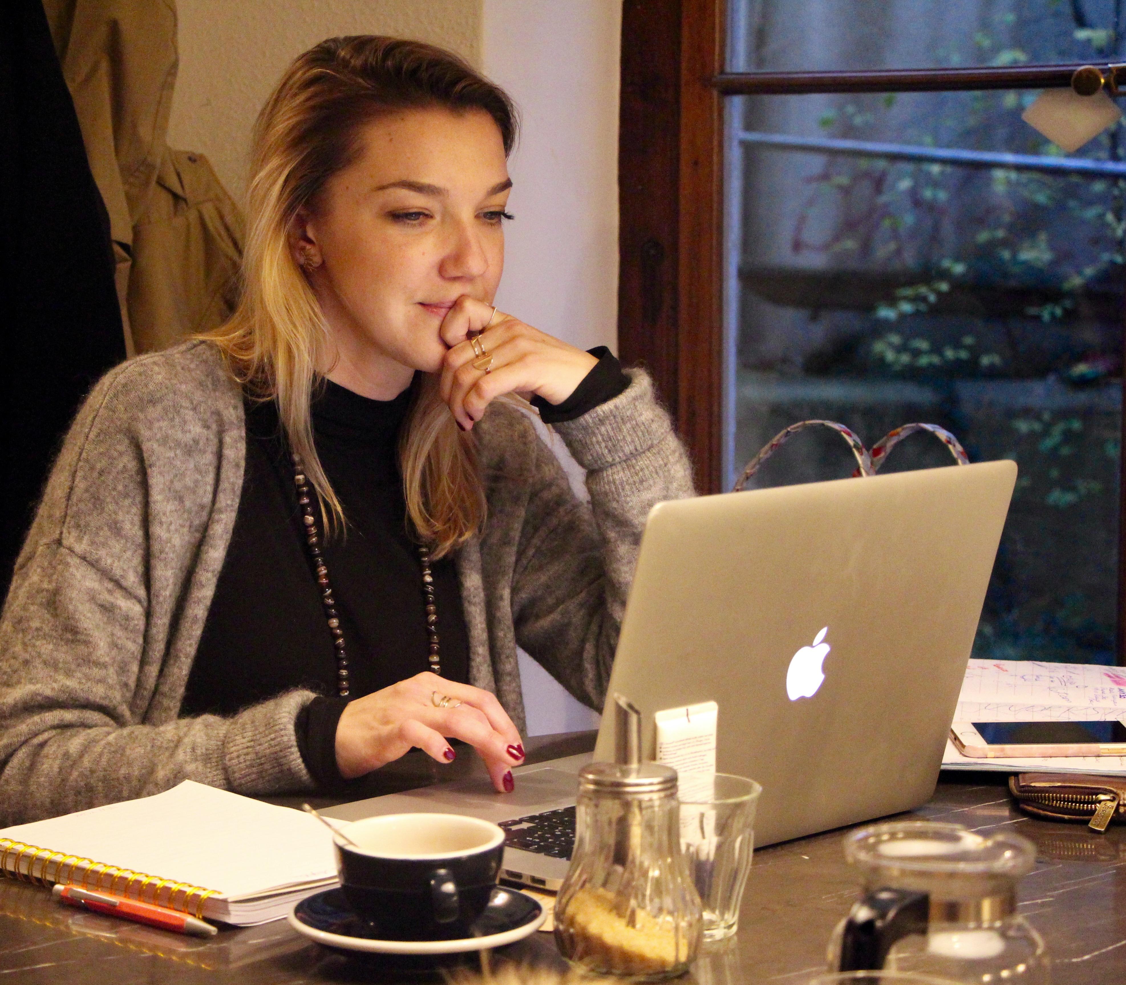 Emilie Hawlena, la fondatrice de Genuine Women ©Eugénie Rousak