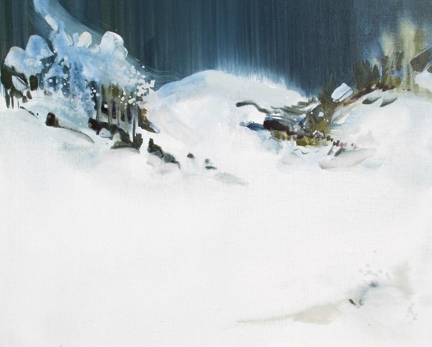Série entre Air et sur Terre Acrylique sur toile de lin 50 x 61 cm cm, Stéphan Herrgott2