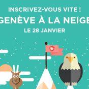 Les inscriptions pour Genève à la Neige sont ouvertes !
