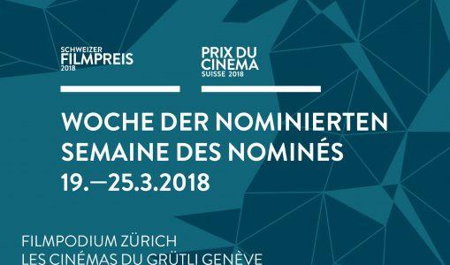 SEMAINE DES NOMINÉS 2018 – Du 19 au 25 mars, le meilleur du cinéma suisse !