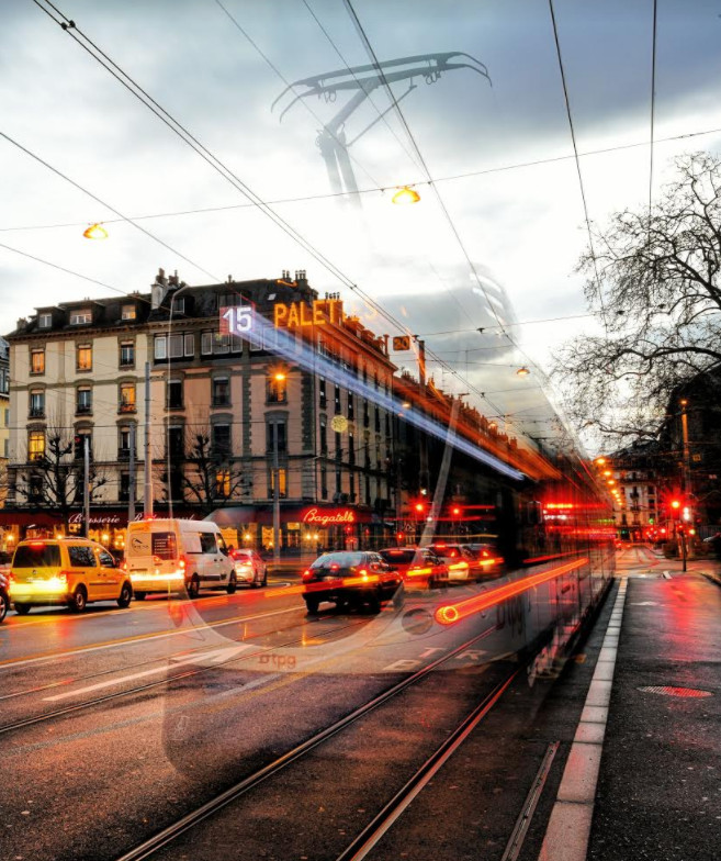 Tram fantôme. © Mathias Deshusses