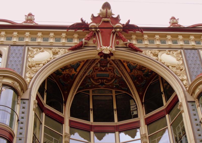 16. Rue du Marché, design d'Alfred Olivet construit après 1912 pour les Galeries Modernes, devenues plus tard Old England, puis UniprixEPA.