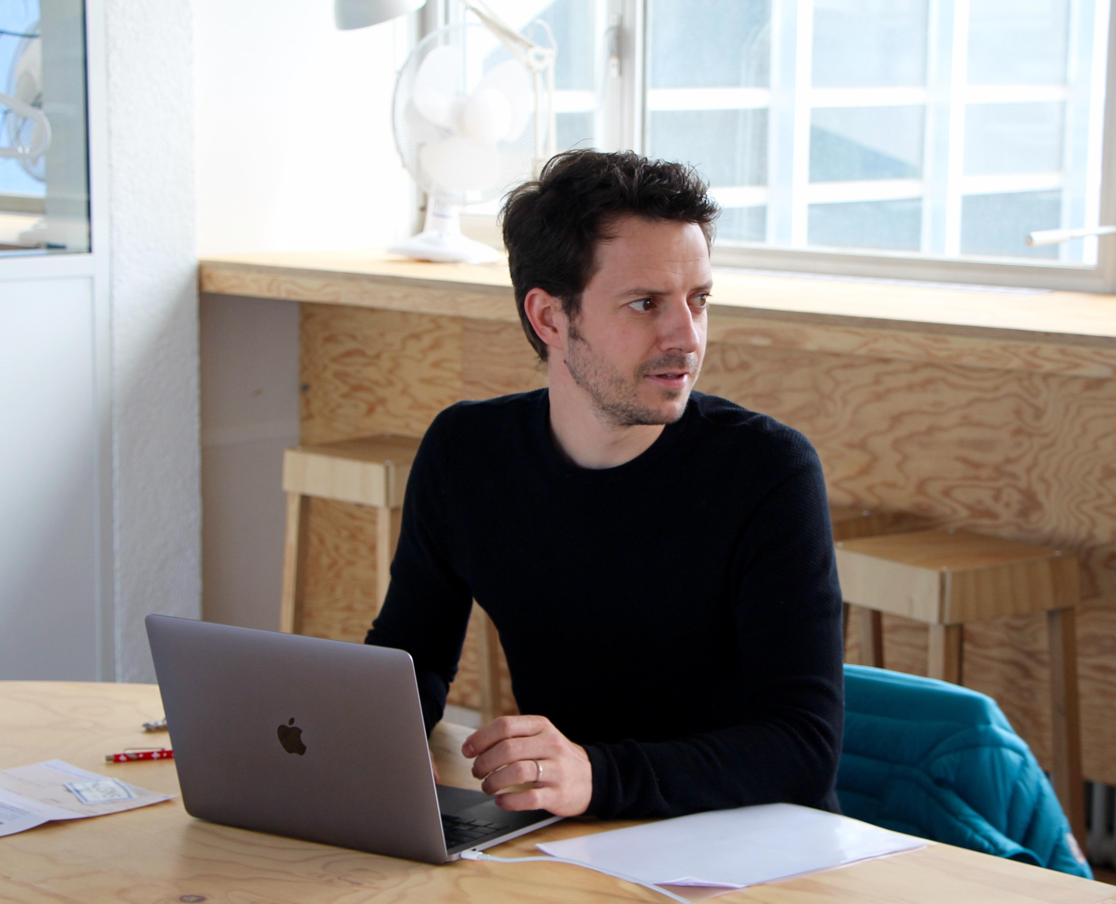 Kaspar Danzeisen, associé et gestionnaire ©Eugénie Rousak
