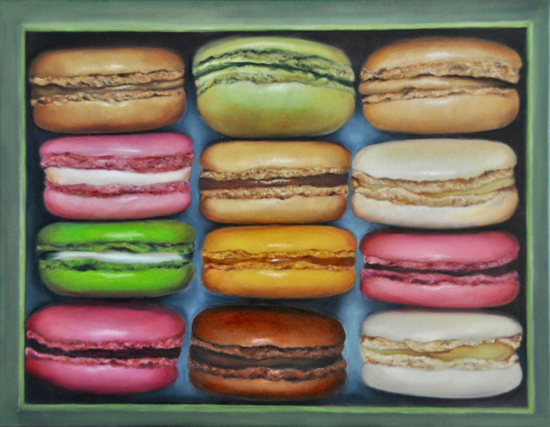 Tea Time Huile sur toile 35 x 45 cm Colette Plenier-Mudde