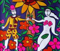 «Le paradis», exposition de peinture