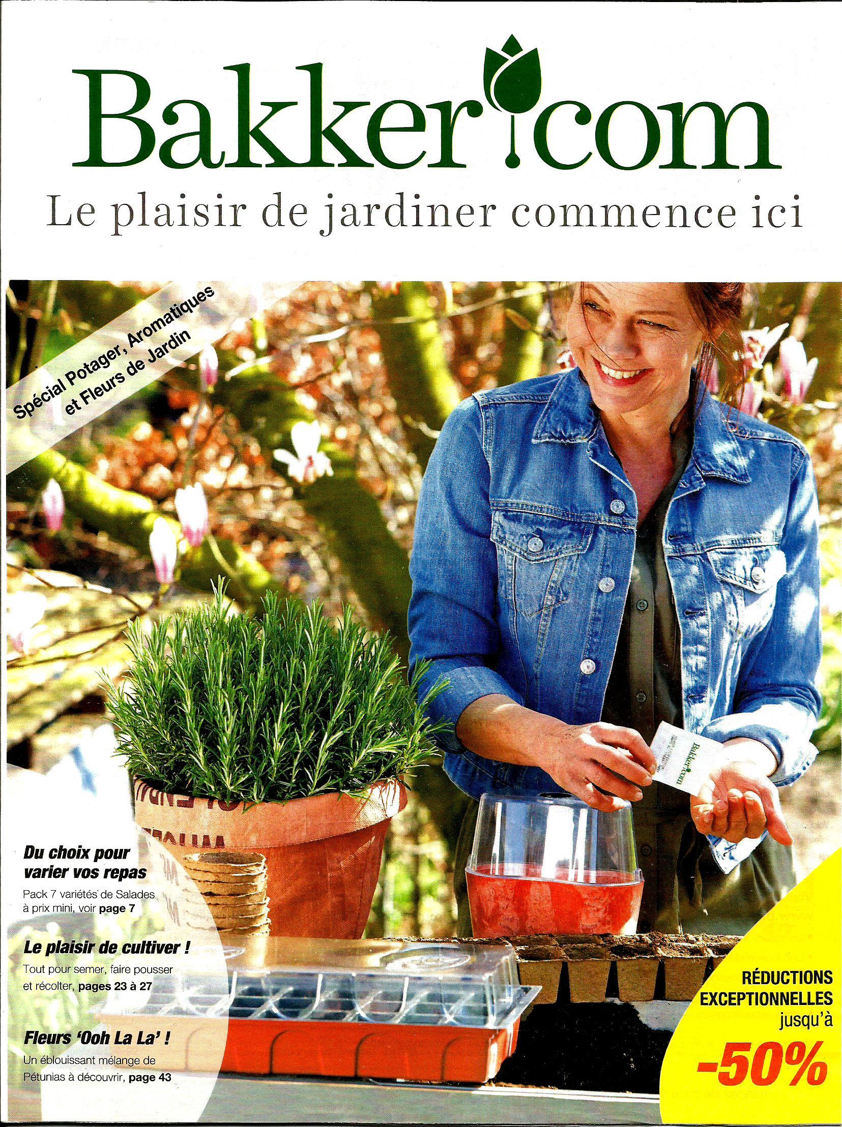 """Le tout """"dernier"""" catalogue de Bakker"""