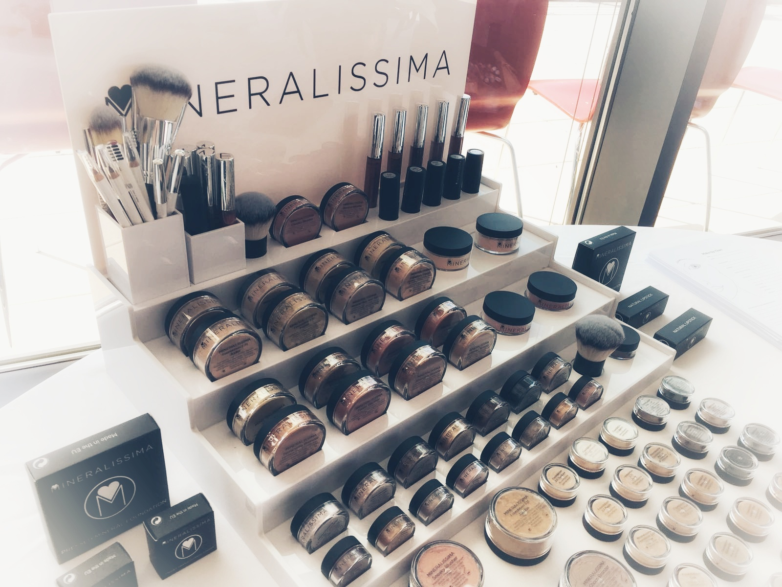 Atelier make-up Mineralissima ©jessiesgeneve