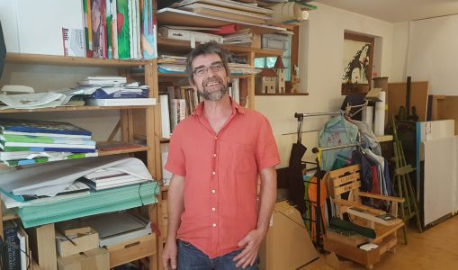 Philippe un peintre qui enseigne à la rue Saint-Jospeh