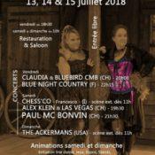 Festival Country de Chancy, de la country et du foot…
