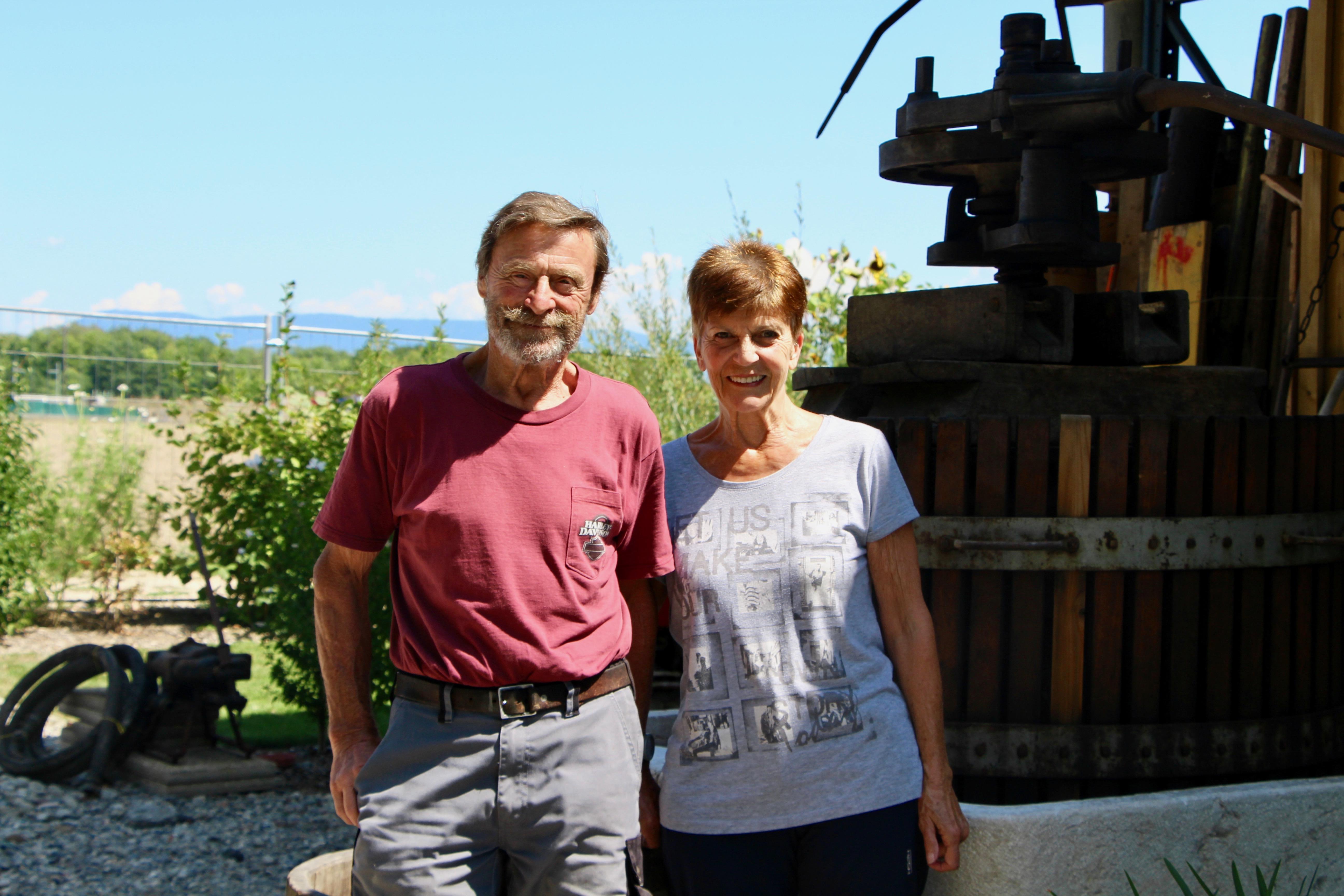 Monique et Jean-Jacques Foëx ©Eugénie Rousak