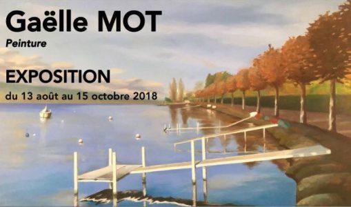 Exposition de tableaux du Lac Léman