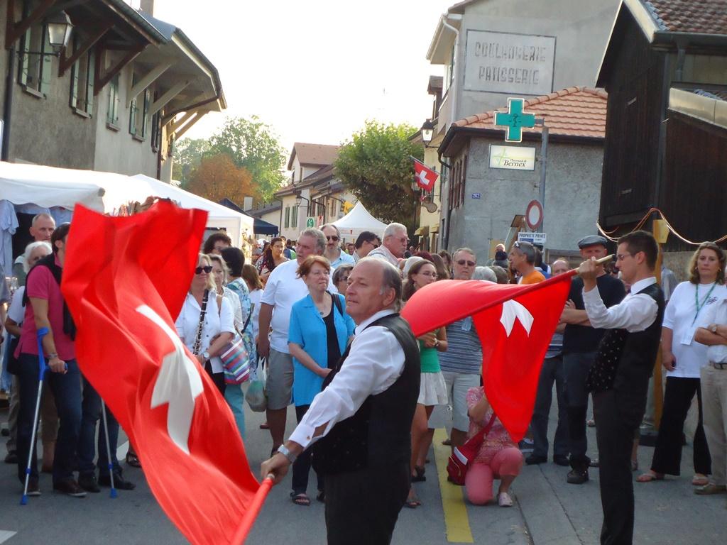 Lancer de drapeau avec Kurt Welten