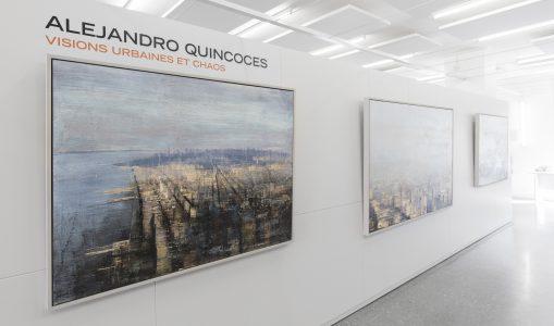 Exposition Alejandro Quincoces «Visions urbaines et chaos»