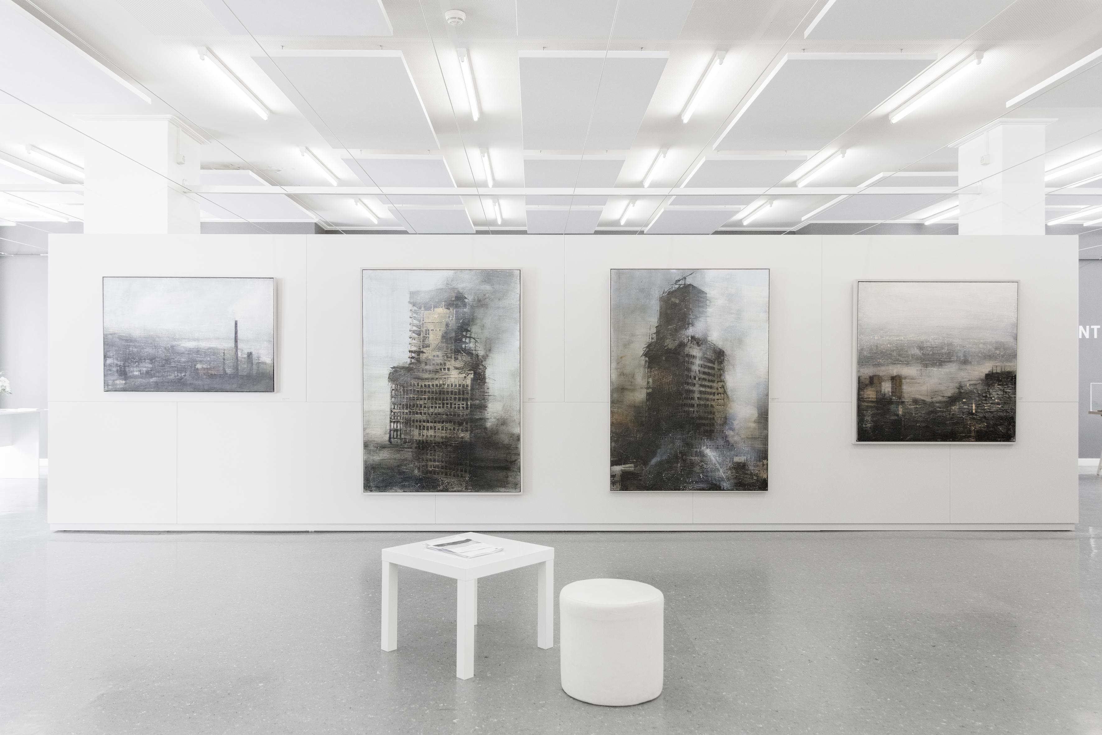 Exposition Alejandro Quincoces Photo: Didier Jordan Ville de Genève